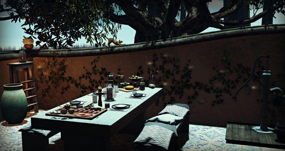 fancy patio