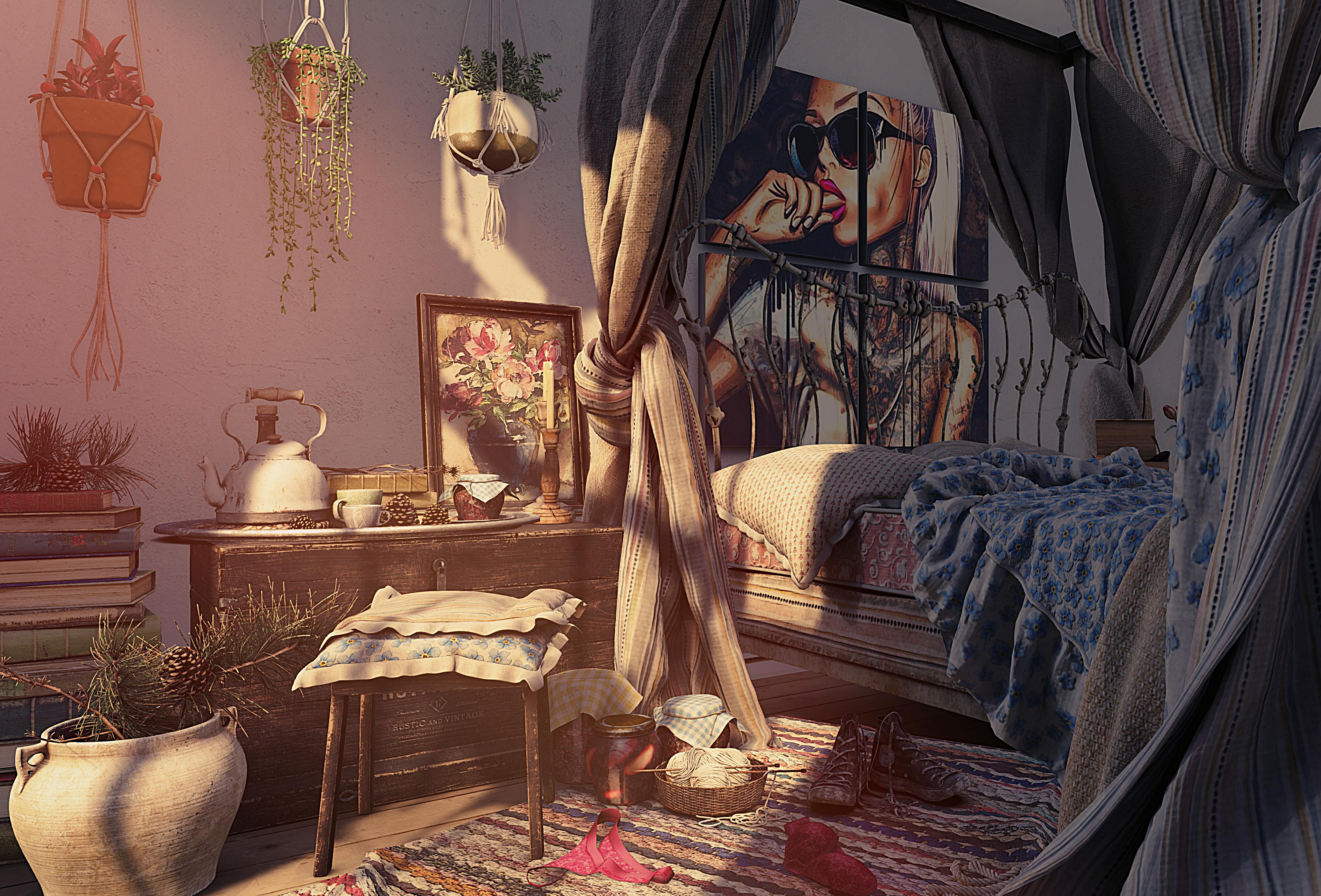 nutmeg bedroom