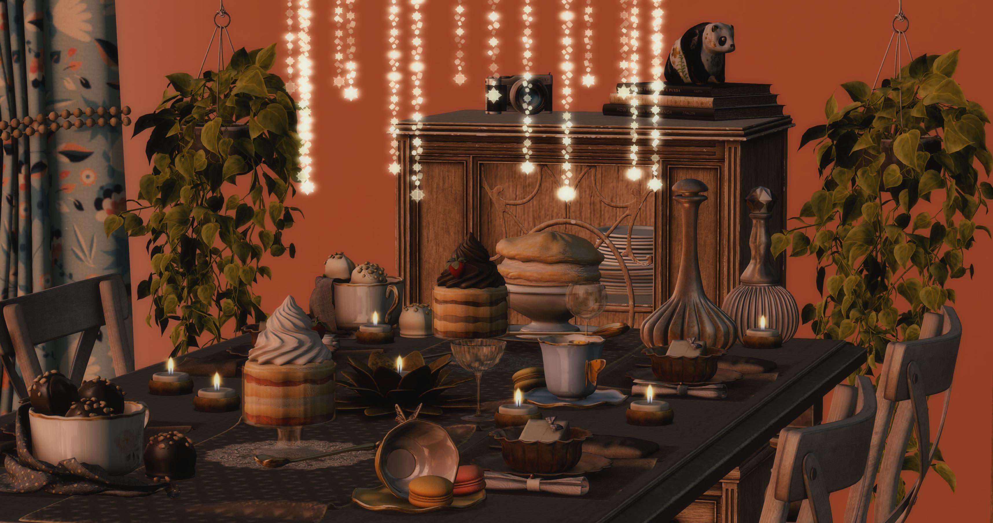 Serenity Style tarte dahlia