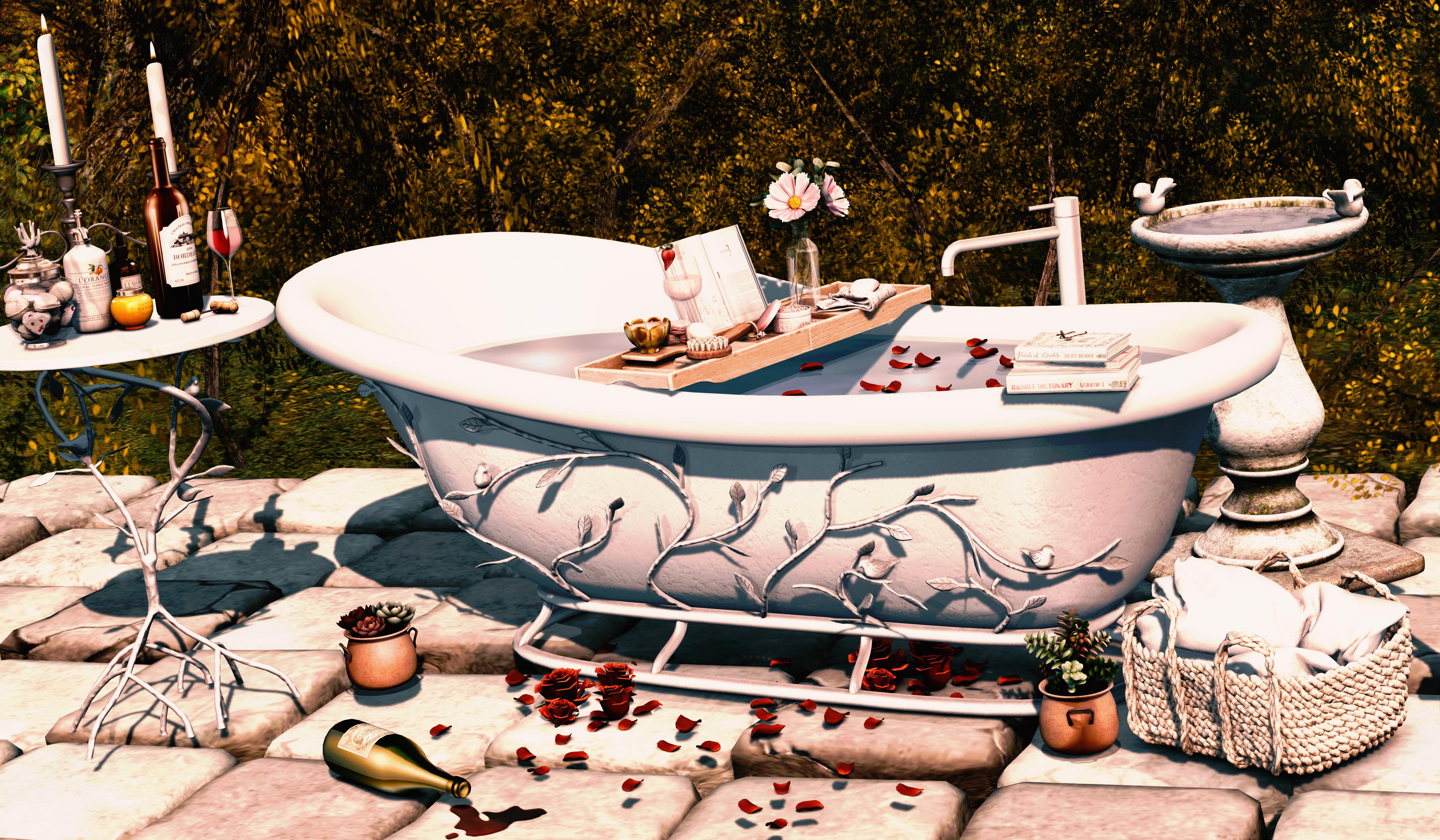 moss & mink bathtub